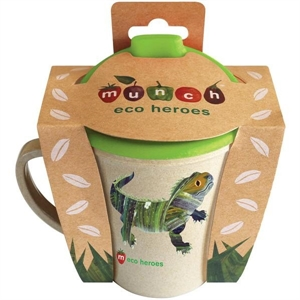 Picture of Munch Eco Hero Toddler Cup - Lizard