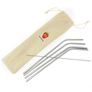 Picture of Munch Reusable Straws (4 pack plus brush)