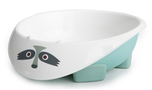 Picture of My Natural - Eco Bowl Light Blue Racoon