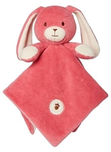Picture of My Natural Lovie Blankie - Pink Bunny