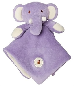 Picture of My Natural Lovie Blankie - Purple Elephant