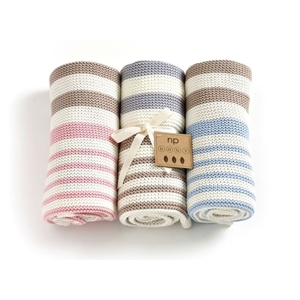 Picture of Nature's Purest Knitted Organic Cotton Blanket