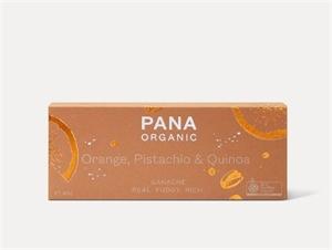 Picture of PANA Organics Orange, Pistachio & Quinoa Ganache