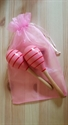 Picture of Pink & Red Strips Maracas