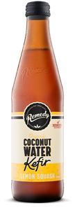 Picture of Remedy Coconut Water Kefir - Lemon Squash 330ML