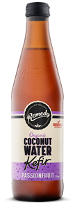 Picture of Remedy Coconut Water Kefir - Passionfruit 330ML