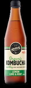 Picture of Remedy Kombucha Lemon Lime & Mint 330ml
