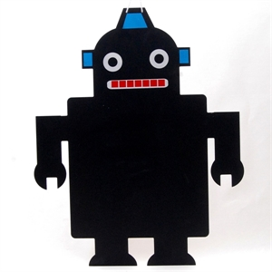 Picture of Robot Wall Mount chalkboard