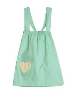 Picture of Sapling Spearmint Cross My Heart Dress