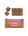 Picture of The Chocolate Yogi  Frothy Toffee 35g bar Whyte Vegan Chocolate