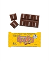 Picture of The Chocolate Yogi Hunny Bumbly 35g bar Vegan Mylk Chocolate Hunnycomb