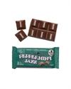 Picture of The Chocolate Yogi Peppermint Jazz 35g bar Vegan Mylk Mint Chocolate
