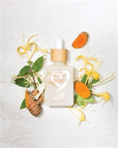 Picture of The Organic Skin Co The Good Oil Honeysuckle and Turmeric Face Oil 30ml