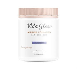 Picture of Vida Glow Blueberry Natural Marine Collagen Loose Powder- 30 servings