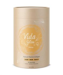 Picture of Vida Glow Mango Natural Marine Collagen - 30 servings