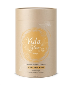 Picture of Vida GlowCranberry and Lime Natural Marine Collagen Loose Powder - 30 servings
