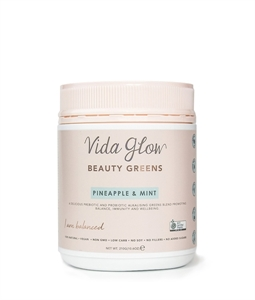 Picture of Vida Glow's Beauty Greens Pineapple & Mint - 30 servings