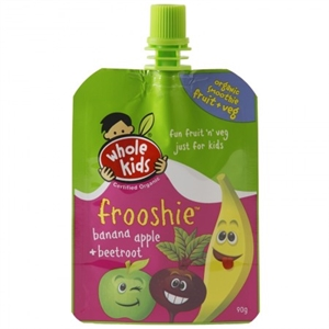 Picture of Whole Kids Banana, Apple & Beetroot Frooshie