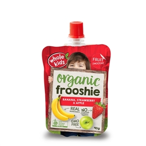 Picture of Whole Kids Banana, Strawberry & Apple Frooshie