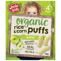 Picture of Whole Kids Little Munchkins Organic Rice and Corn Puffs Apple