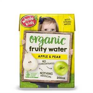 Picture of Whole Kids Organic Apple and Pear Juice
