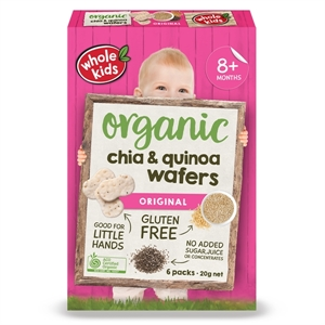 Picture of Whole Kids Organic Original Chia & Quinoa Wafers