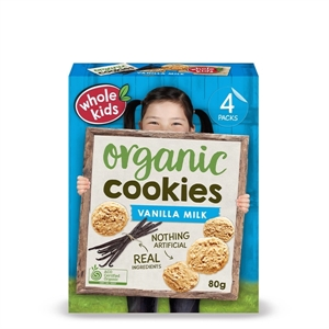 Picture of Whole Kids Organic Vanilla Cookies - 80g