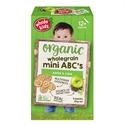 Picture of Whole Kids Organic Wholegrain Mini ABC's 4pks