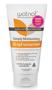 Picture of Wotnot Deeply Moisturising 30 SPF Natural Sunscreen 100g