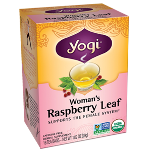 Picture of YOGI Woman's Raspberry Leaf  - Supports the female system