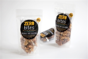 Picture of Zero Bites Organic Oat Clusters 250g